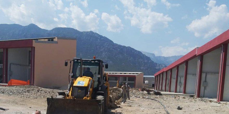 Kemer Yeni Küçük Sanayi Sitesi'nin altyapısı tamamlandı