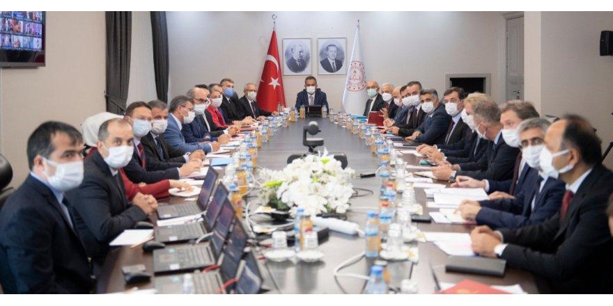 Bakan Özer, 81 İl Milli Eğitim Müdürü ile toplandı