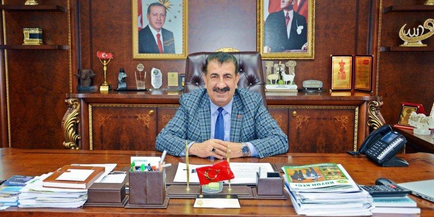 """TÜDKİYEB Genel Başkanı Nihat Çelik: """"Tarım alanlarını nadasa bırakmak yerine yem bitkisi ekilsin"""""""