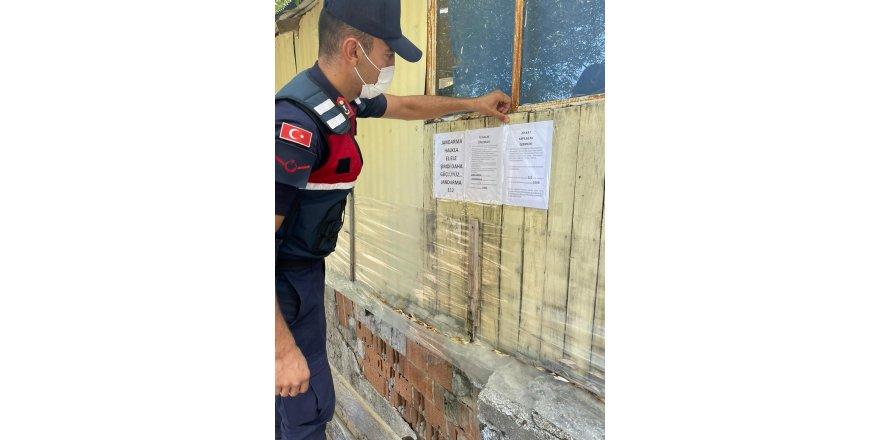 Jandarma yayladan dönecek vatandaşları hırsızlara karşı uyardı