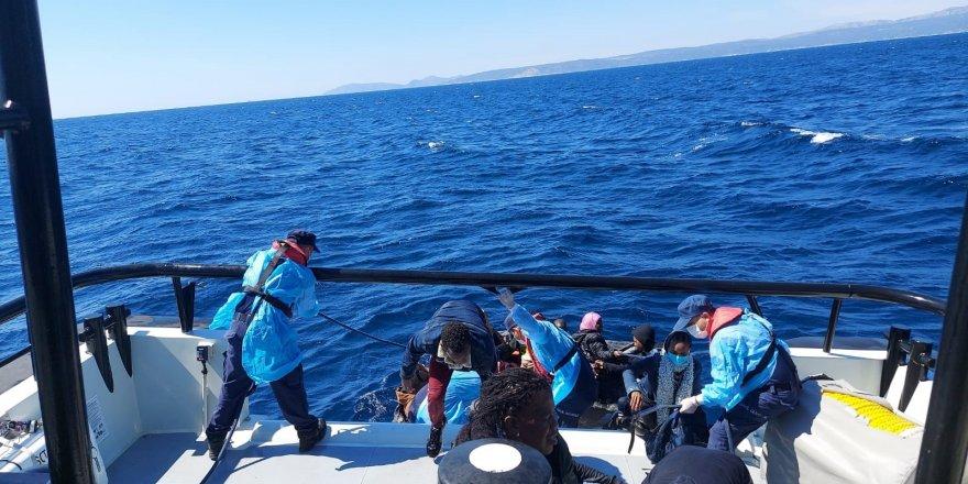 184 göçmeni Sahil Güvenlik kurtardı