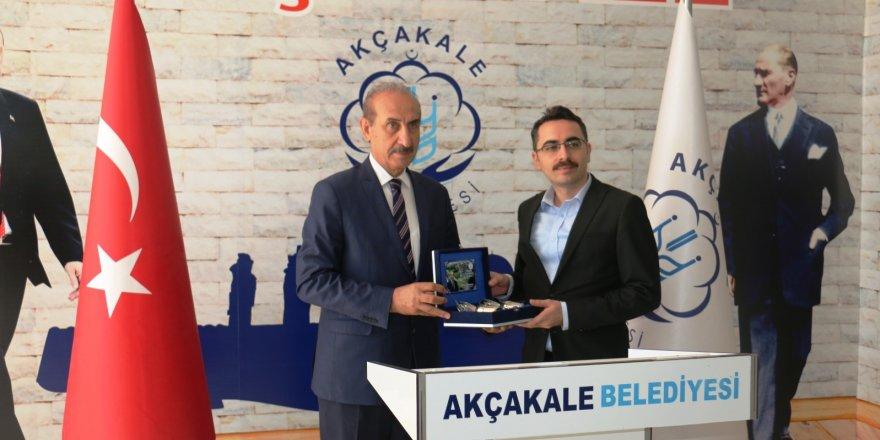 Cumhuriyet Başsavcısı vekilinden Başkan Yalçınkaya'ya ziyaret