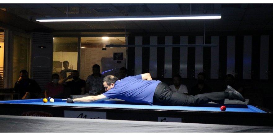 Mustafa Erkanat anısına bilardo turnuvası