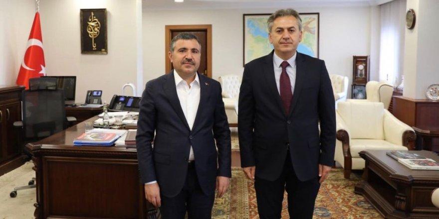 Vali Atay'dan Çetinkaya ve Yiğit'e başarı dileği