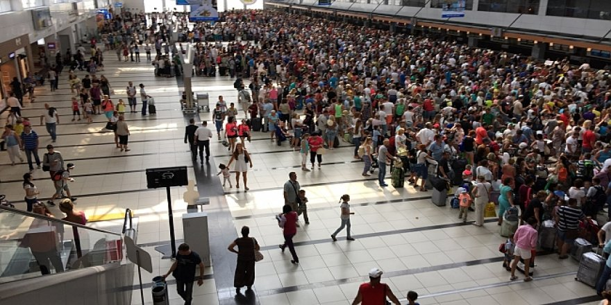 Antalya'da turist sayısında 7 milyonu geçti