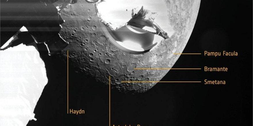 İşte Merkür'ün ilk fotoğrafları