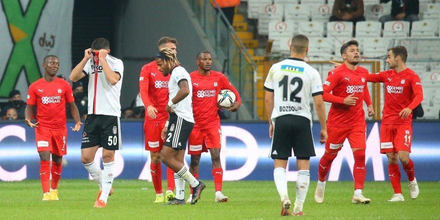 Beşiktaş, yiğidoları üzdü
