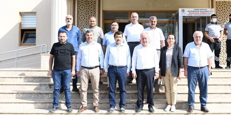 AK Partili vekil çalışmaları inceledi