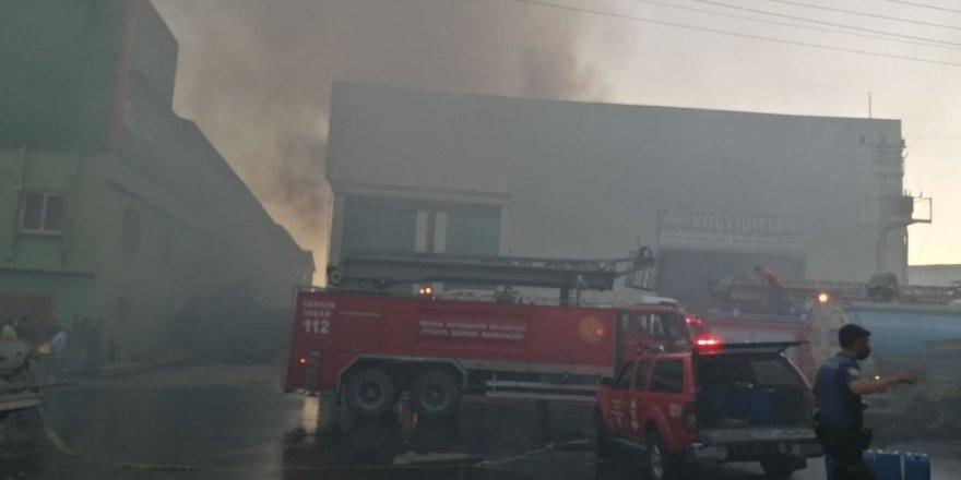 Hurdacılar Sitesi'nde yangın