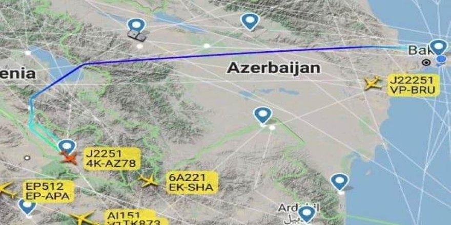 Azerbaycan, Ermenistan hava sahasını kullanacak