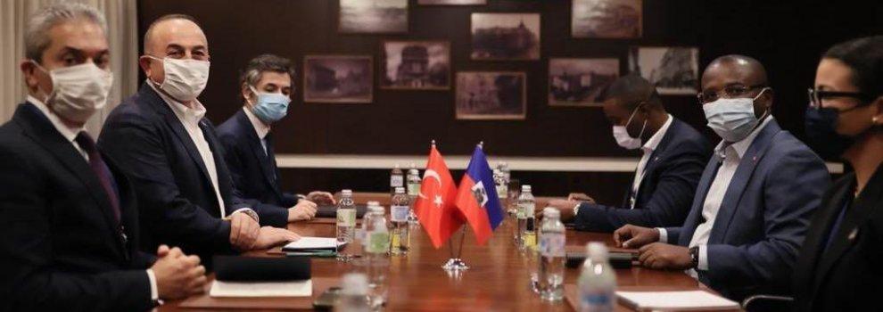 Çavuşoğlu,  Haiti Dışişleri Bakanı ile görüştü