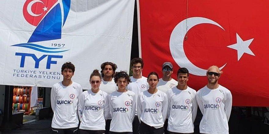 HSSK Quick Sigorta Yelken Takımı Avrupa Şampiyonu oldu