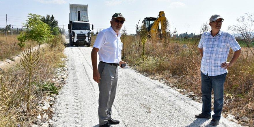 İnönü Belediyesi yol yapım çalışmalarına aralıksız devam ediyor