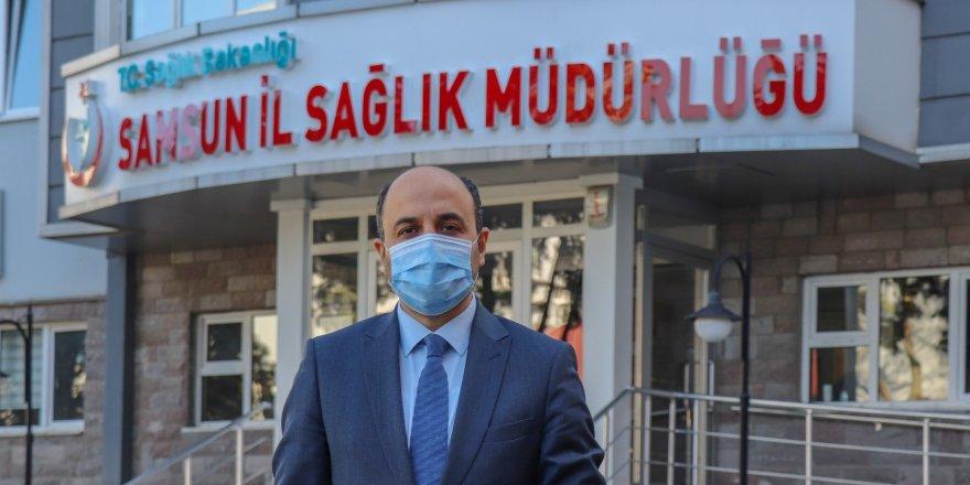 """Samsun Sağlık Müdürü Oruç: """"İkinci doz aşı oranımız birçok ilçemizde yüzde 60'ın altında"""""""